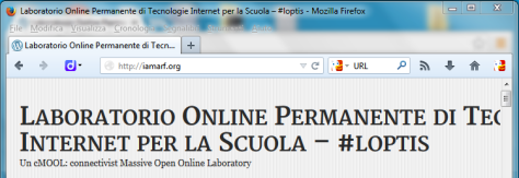 Firefox 23 in Windows 7. Qui sono due caselle.